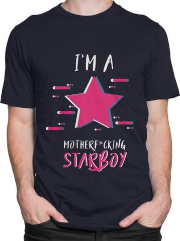 Star Boy Round Neck T-Shirt