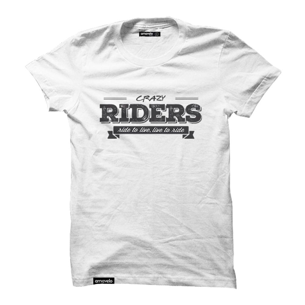 Crazy Riders Round Neck T-Shirt