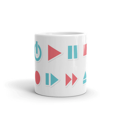 Play Buttons Coffee Mug