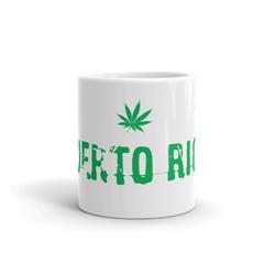 Puerto Rico Weed Coffee Mug