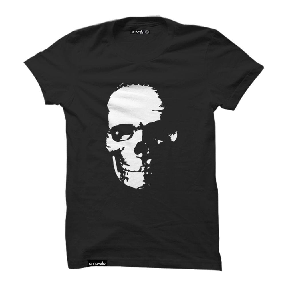 Skull Round Neck T-Shirt