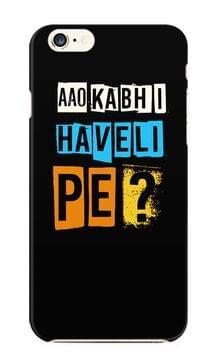 Aao Kabhi Haveli Pe Premium Printed IPhone 6/6S Case
