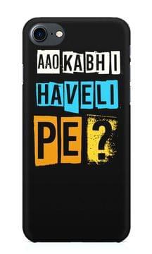 Aao Kabhi Haveli Pe Premium Printed IPhone 7 Case