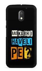 Aao Kabhi Haveli Pe Premium Printed MOTO E3 Case