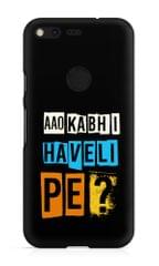 Aao Kabhi Haveli Pe Premium Printed Google Pixel Case