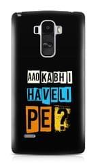 Aao Kabhi Haveli Pe Premium Printed LG G4 Stylus Case