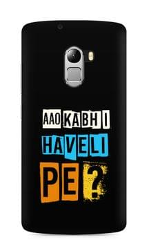 Aao Kabhi Haveli Pe Premium Printed Lenovo Vibe K4 Note Case