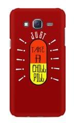Just Take A Chill Pill Premium Printed Samsung Galaxy J5 Case