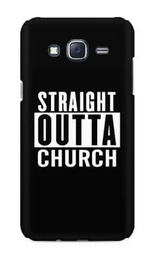 Straight Otta Church Premium Printed Samsung Galaxy J5 Case