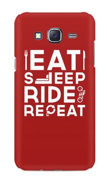 Eat Sleep Ride Premium Printed Samsung Galaxy J5 Case