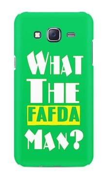 What The Fafda Man Premium Printed Samsung Galaxy J5 Case