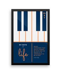 My Keys To Life Wall Poster