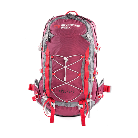 Xplore 45 trekking/hiking/travel rucksack backpack with AerWireT - 45L