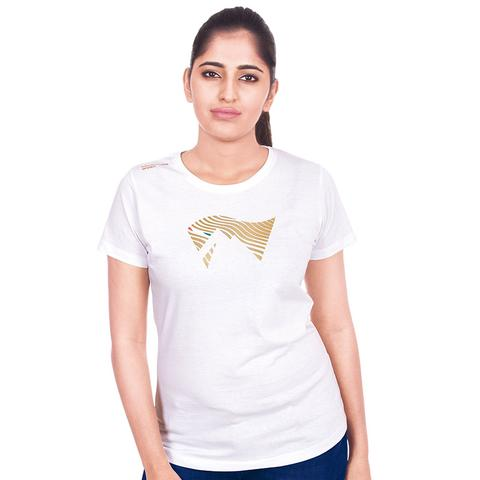 AdventureWorx Women's TravelEx-W03 Cotton T-Shirt (White)