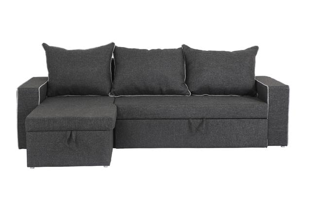 Hong kong RHS 3 Seater Sofa With Lounger in Grey