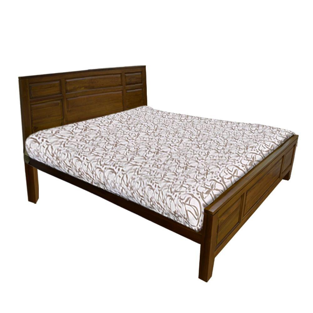 Winston Indonesian Teak King Bed in Natural Teak Finish
