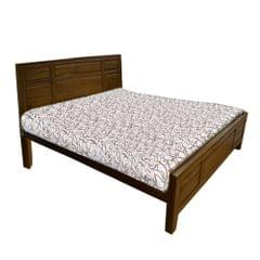 Winston Indonesian Teak King Bed in Natural Teak Finish
