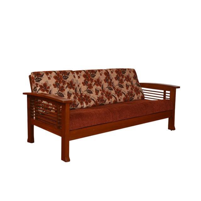 Lyanna 3+1+1 Teak Wooden Sofa Set