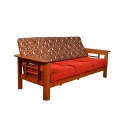 Ryan 3+1+1 Solid Wooden Sofa Set
