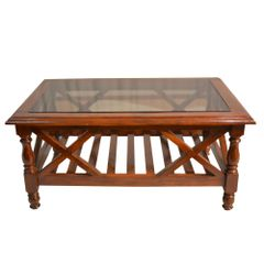 Krishna Coffee Table in Solid Teak