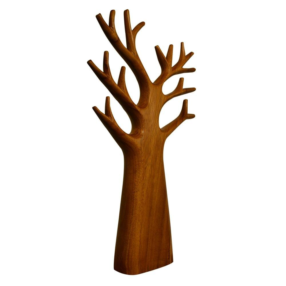 Tree with Branches in Teak Wood - (Large)