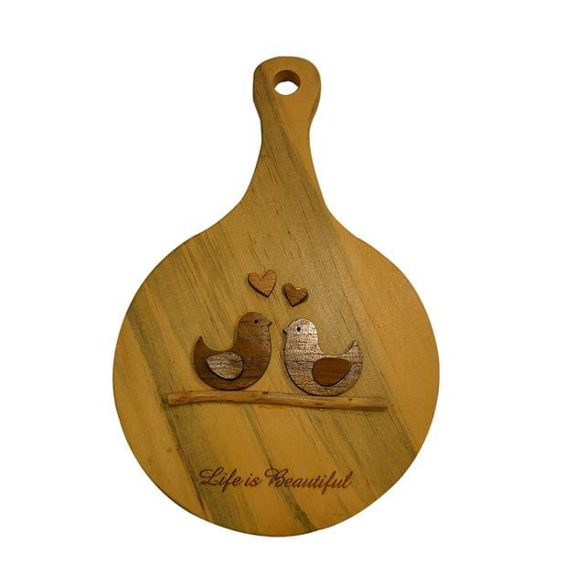 Life is Beautiful Wooden wall hanging