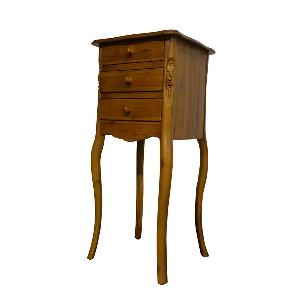 Woodway End Table Handcrafted Teak - (Square Top)