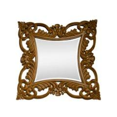 HandCarved Mirror in Pure Teak Wood