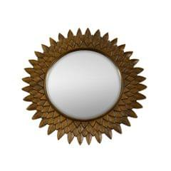 Sun Mirror in Pure Teak Wood