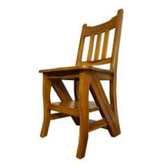 Solid Teak Chair-cum-Ladder