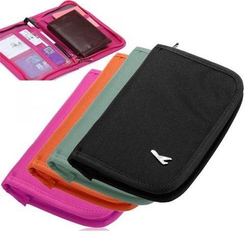 Passport Holder Wallet Case (Multicolor)