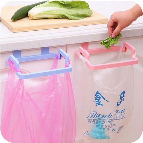 Portable Kitchen Trash Bag Holder