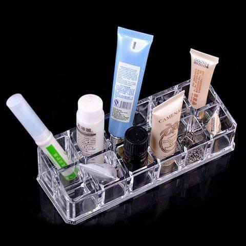 Clear Acrylic Lipstick Holder 12 Slot M 6206