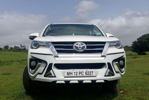 MTEK ABS FRONT GUARD FOR NEW FORTUNER 2017 STARDOM