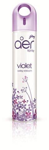 Godrej aer Home Air Freshener Spray - Violet valley Bloom - 300 ml