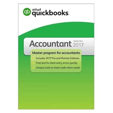 QuickBooks Accountant 2017 – 1 User
