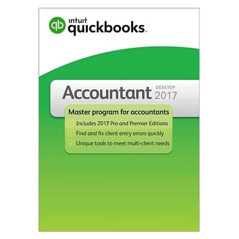 QuickBooks Accountant 2017 – 3 User