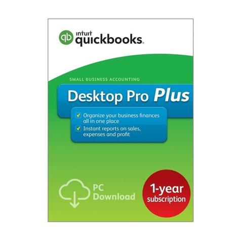 QuickBooks Desktop Pro Plus 2018 – 1 User