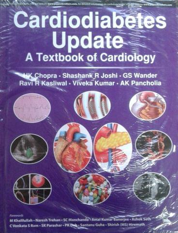 Cardiodiabetes Update A Text of Cardiology 1st Edition 2018 By HK Chopra