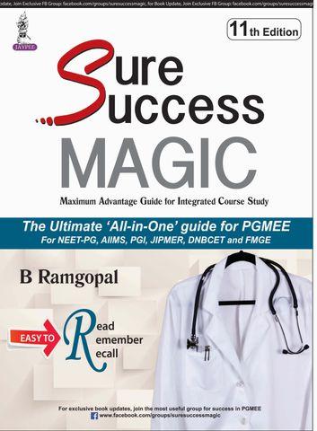 Sure Success MAGIC 11th Edition 2018 by B Ramgopal