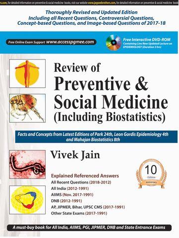 Review of Preventive & Social Medicine 10th Edition 2018 by Vivek Jain