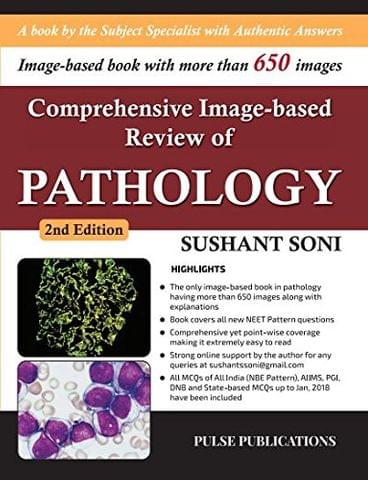 Comprehensive Image based Review of PATHOLOGY 2nd edition 2018 by Sushant Soni