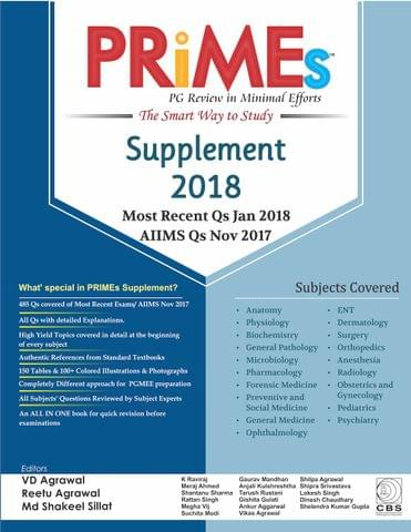 PRiMEs Supplement 2018 by VD Agarwal