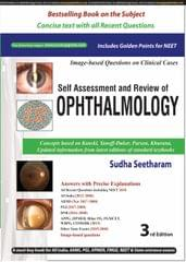 Self Assessment and Review of OPHTHALMOLOGY 3rd Edition 2018 by Sudha Seetharam