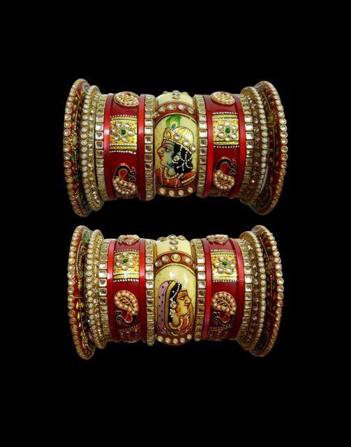Royal Rajwadi Bridal Chura