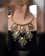 Owomaniya Beautiful Afghani Necklace