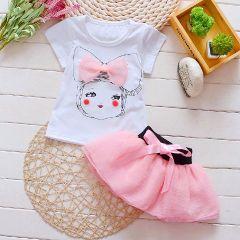 Pink Tutu Skirt Set