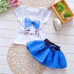 Blue Tutu Skirt Set