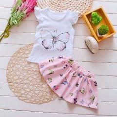 Butterfly Tutu Set - Pink
