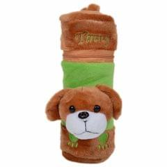 My Fuzzy Brown Puppy Bottle Cover - 250ML Capacity